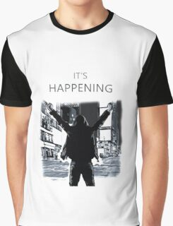 Mr Robot - It's happening Graphic T-Shirt