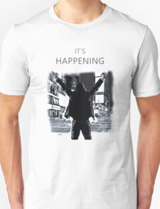 Mr Robot - It's happening Unisex T-Shirt