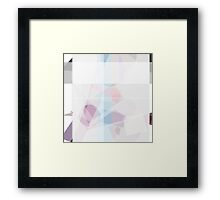 pale insinuations Framed Print