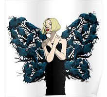 The Butterfly Girl Poster