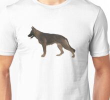 German Shepherd: Red Sable Unisex T-Shirt