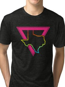 texas pink triangle Tri-blend T-Shirt