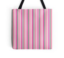 Vertical Pink Tote Bag