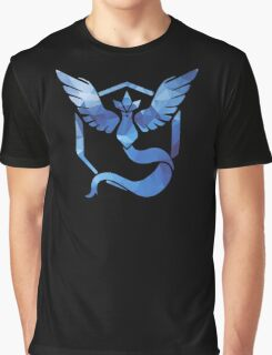 Pokémon Go Team Mystic v. Fractal  Graphic T-Shirt