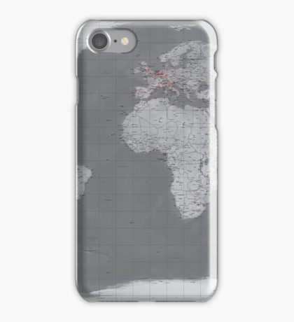 Natural Earth Grey iPhone Case/Skin