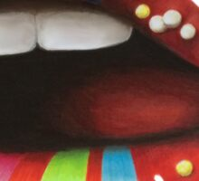 Candy Lips Sticker