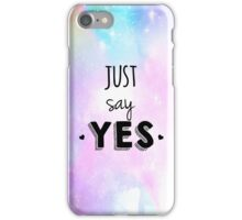 Zoella - Just Say Yes! Zoe Sugg iPhone Case/Skin