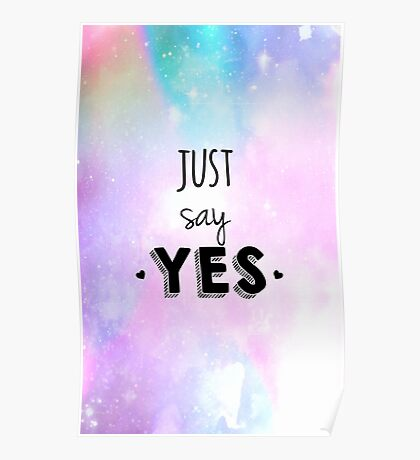 Zoella - Just Say Yes! Zoe Sugg Poster