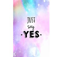 Zoella - Just Say Yes! Zoe Sugg Photographic Print