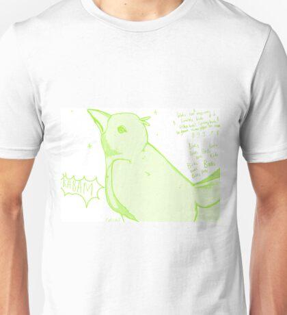 Birds birds birds (with song) Unisex T-Shirt