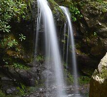 Grotto Falls by HeyHannahNicole