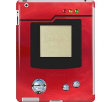 red retro pokedex iPad Case/Skin