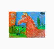 Chesnut horse in pastels Unisex T-Shirt