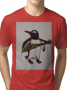 Signature Penguin Tri-blend T-Shirt