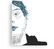 gerard way  - coloured Canvas Print