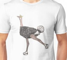 Figure Skating Ostrich Unisex T-Shirt