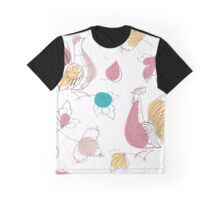 Turtledoves in Russian style Graphic T-Shirt