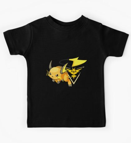 Raichu - Team Instinct Kids Tee