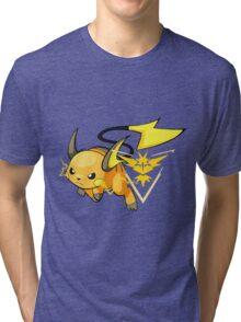 Raichu - Team Instinct Tri-blend T-Shirt