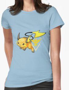 Raichu - Team Instinct Womens Fitted T-Shirt