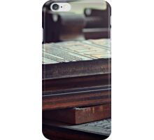 Printing Plates iPhone Case/Skin