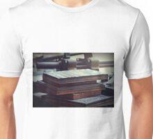 Printing Plates Unisex T-Shirt