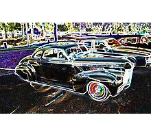 Disco Oldsmobile Photographic Print