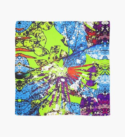 Abstract Multicolor Background Scarf