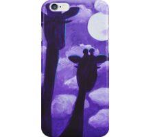 Giraffes at Nightfall iPhone Case/Skin