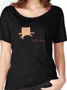 Funny pic with red cat Women's Relaxed Fit T-Shirt