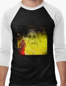 Prague Mashup Men's Baseball ¾ T-Shirt