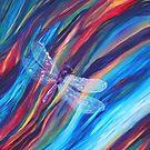 Purple Dragonfly by Kari Sutyla