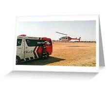 Medical evacutaion in Johannesburg Greeting Card