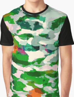 Abstract Army Pattern Graphic T-Shirt