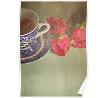 Tea and Roses.  Poster