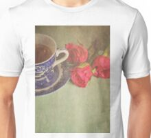 Tea and Roses.  Unisex T-Shirt