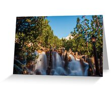 Waterfall at Grizzly River Rapids Greeting Card