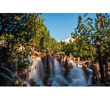 Waterfall at Grizzly River Rapids Photographic Print
