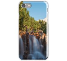 Waterfall at Grizzly River Rapids iPhone Case/Skin