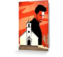 The Preacher Greeting Card