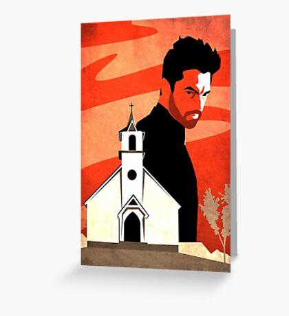 The Preacher Greeting Card