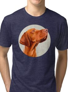 Mr Vizsla Tri-blend T-Shirt