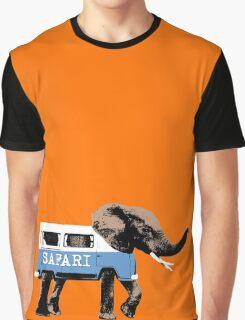 Elephant Safari Graphic T-Shirt