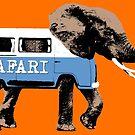 Elephant Safari by monsterplanet