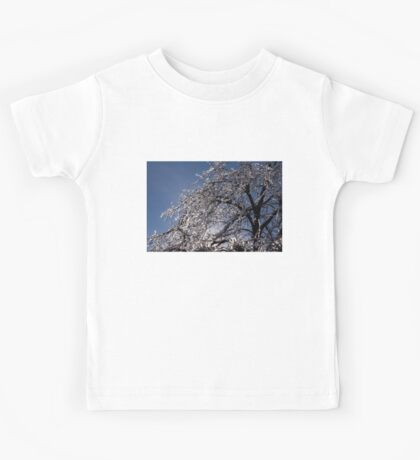 Sparkling Icy Tree - Mother Nature's Decoration Kids Tee