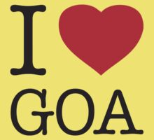 I ♥ GOA One Piece - Short Sleeve