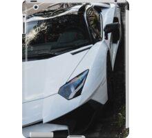 Lamborghini Aventador SuperVeloce Roadster! iPad Case/Skin