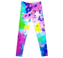 Abstract Colorful Liguid Leggings