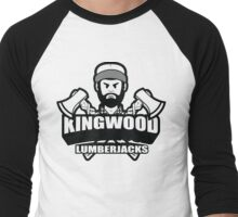 Kingwood Lumberjacks  Men's Baseball ¾ T-Shirt