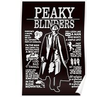 Peaky Blinders Quotes Poster